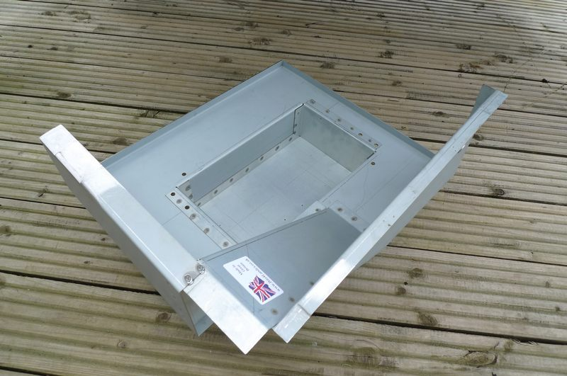 Land Rover Series 2a 3 Seat Base Repair Panel    Battery
