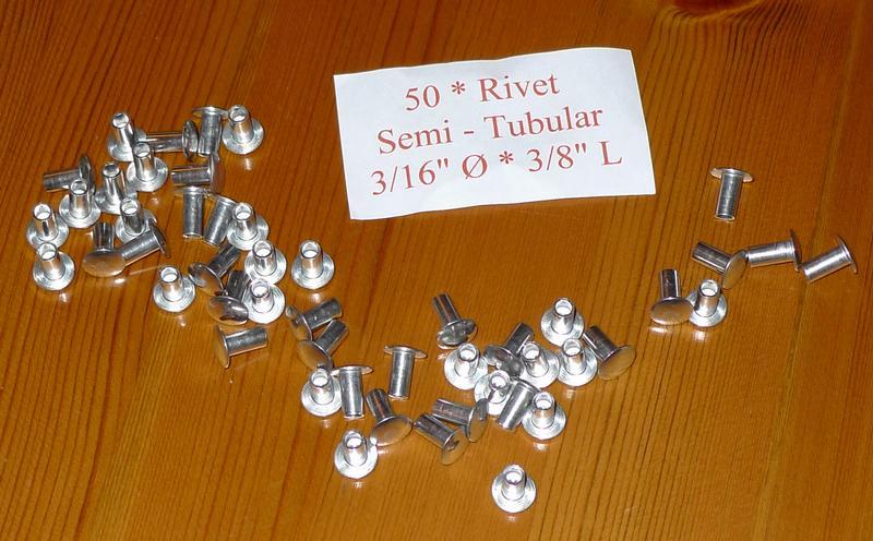 "Solid Aluminium Rivets 3//16/"" dia 9//16/""  long x50 Landrover Series 302816"