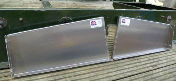 Land Rover Series 1 seatbox sides